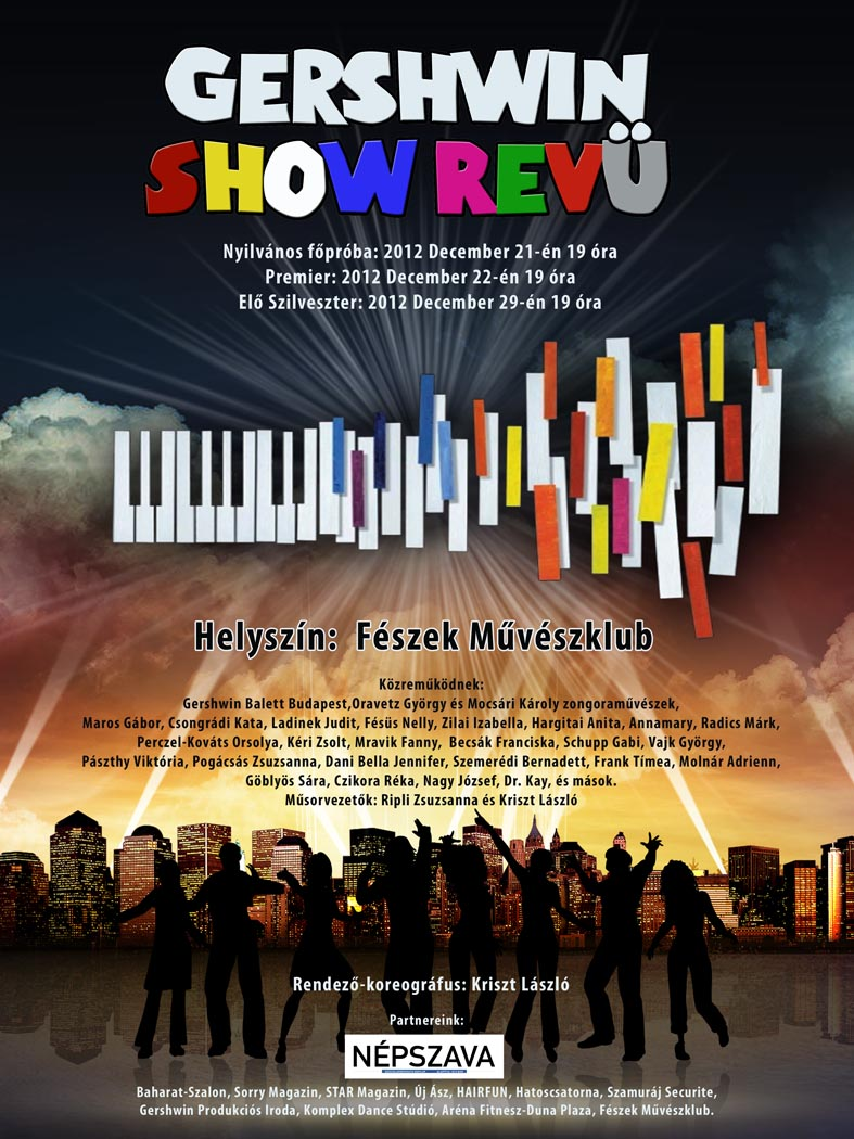 Gershwin_Show_plakat_1