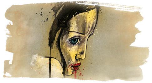 Kislány a pokolban monodráma