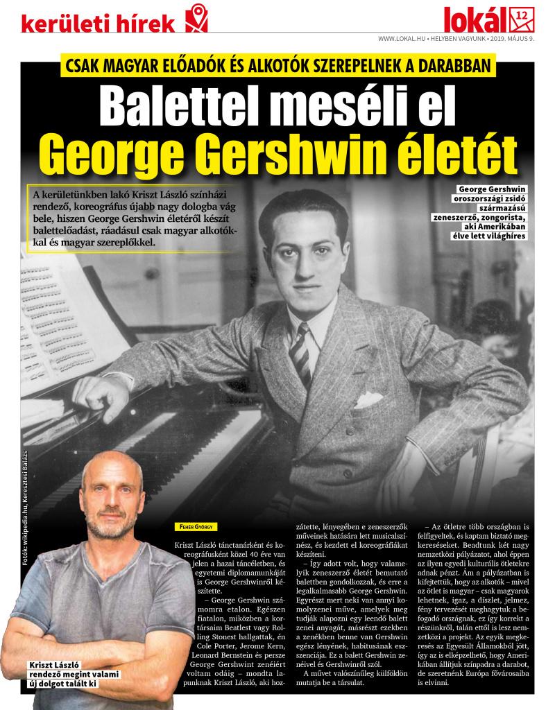 Gershwin Story cikk 2019