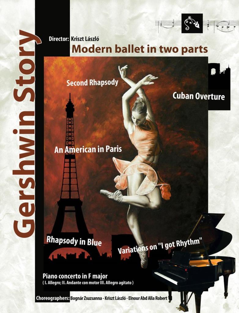 Gershwin story két részes modern balett