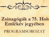 Nyitott zsinagógák logó